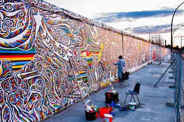 Bức tường Berlin ngày nay