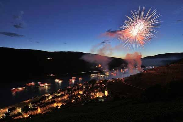 Lễ hội Rhine in Flames tại Bang Rhineland Palatinate