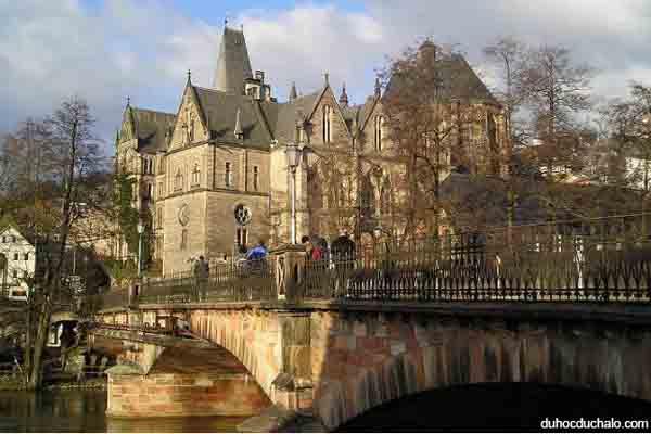 truong dai hoc Marburg